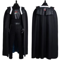 star cosplay wars visions dark jedi cosplay costume adult uniform cape outfits halloween carnival suit