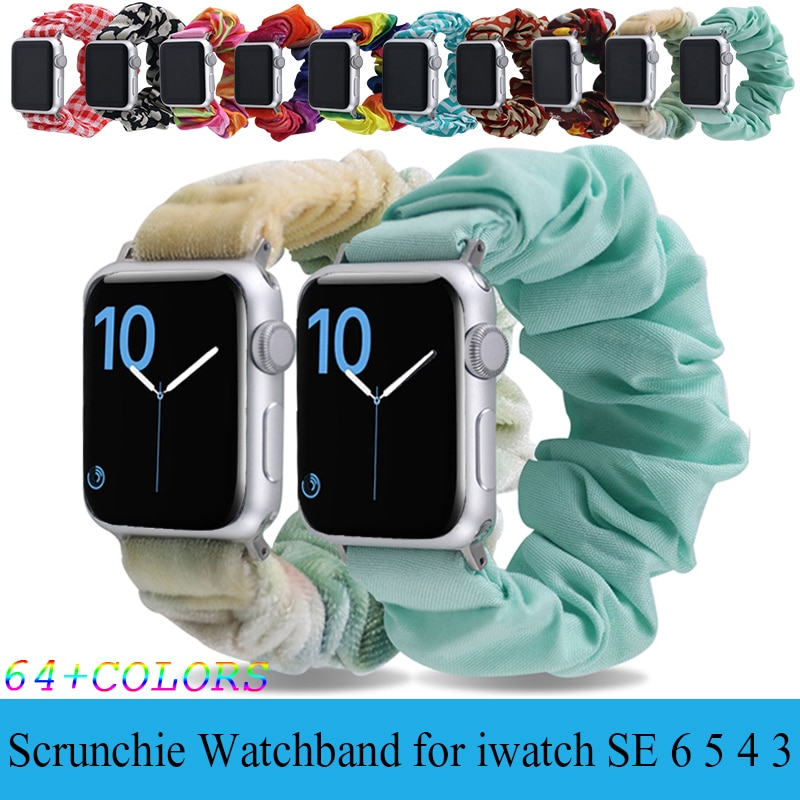 scrunchie-band-for-apple-watch-correa-se-40mm-44mm-iwatch-series-3-4-5-6-elastic-hair-belt-bracelet-apple-watch-strap-38mm-42mm