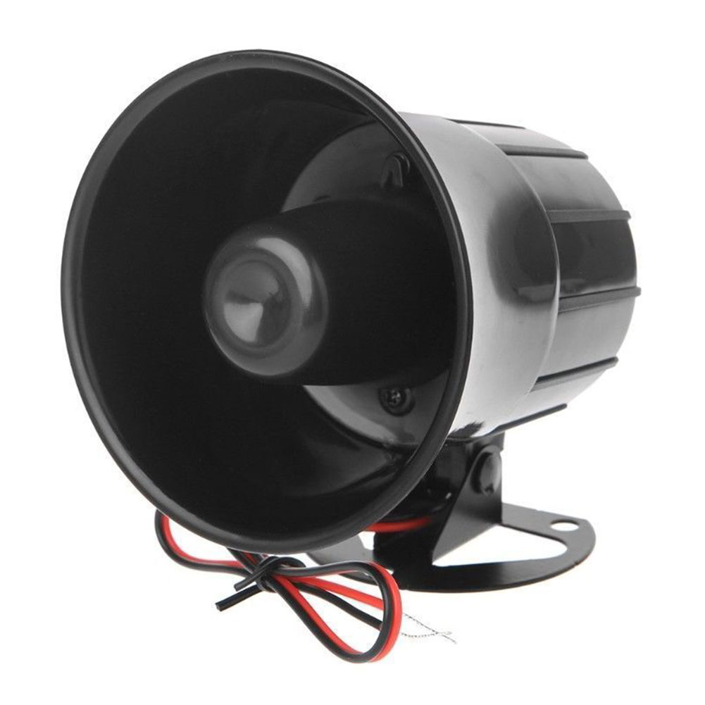 Con la herramienta Bracke protección antirrobo sonido ruidoso cableado sistema de seguridad del hogar altavoz de bajo consumo alarma cuerno ABS duradero
