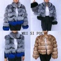 high end natural fox fur coat silver fox red fox real fur coat fox fur vest natural fur womens winter jackets fur coat furvests