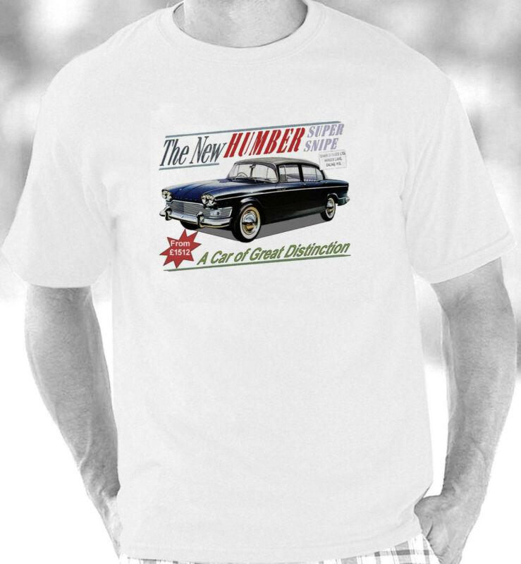 Humber Super Snipe de la serie 5 Estilo Vintage camiseta