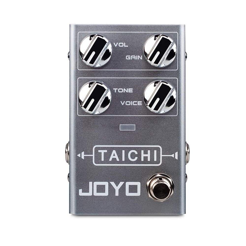 JOYO TAICHI baja ganancia Pedal de efectos de guitarra Overdrive Bypass verdadero carcasa totalmente de Metal Pedal con efecto Overdrive accesorios de guitarra