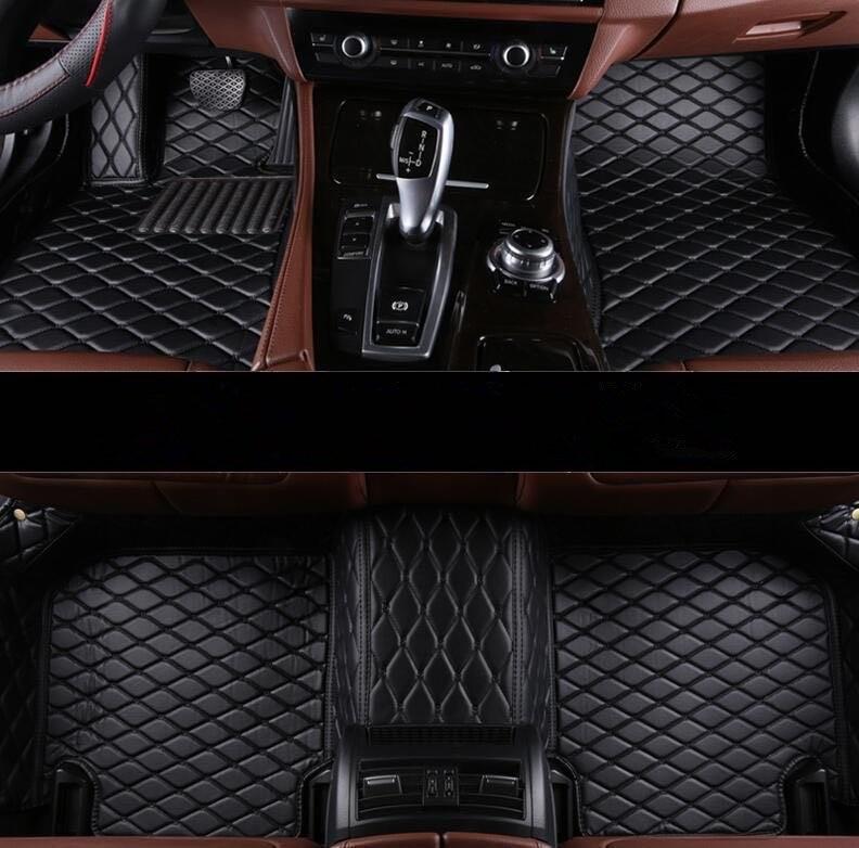 Custom special car floor mats for Infiniti Q50 2018-2014 waterproof durable carpets for Q50 2016