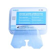 Arrangement de dents de plaque de guidage en plastique dentaire de laboratoire dentaire sur le travail acrylique de prothèse dentaire 1 pièces