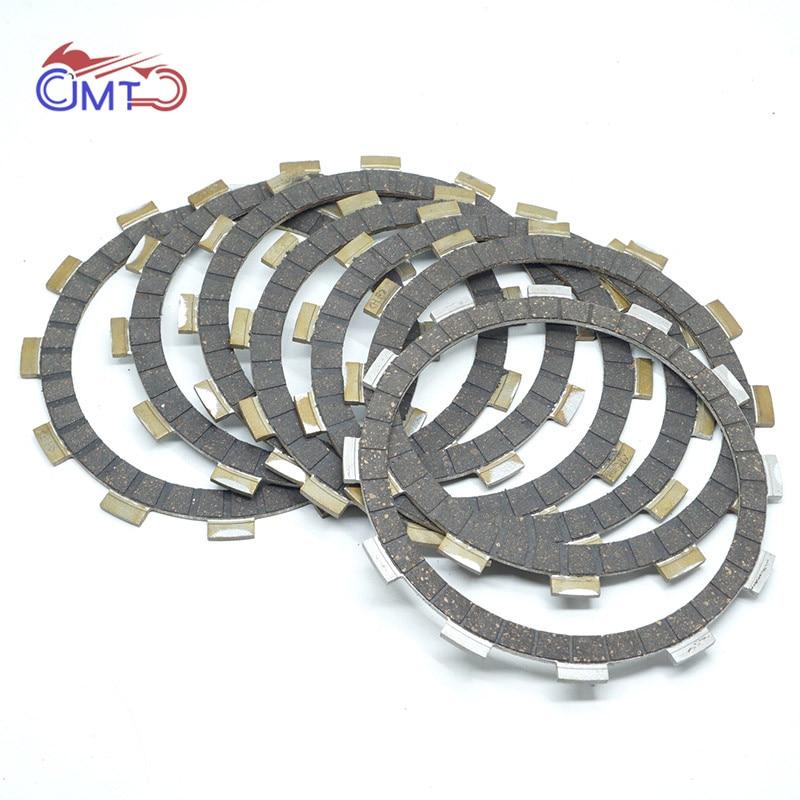 For Suzuki Intruder VS800 2005-2009 VS800GL 1992-2004 VX800 1990-1993 VS700GLEF/GLF 86-87 Clutch Friction Disc Plate Kit 7P Set
