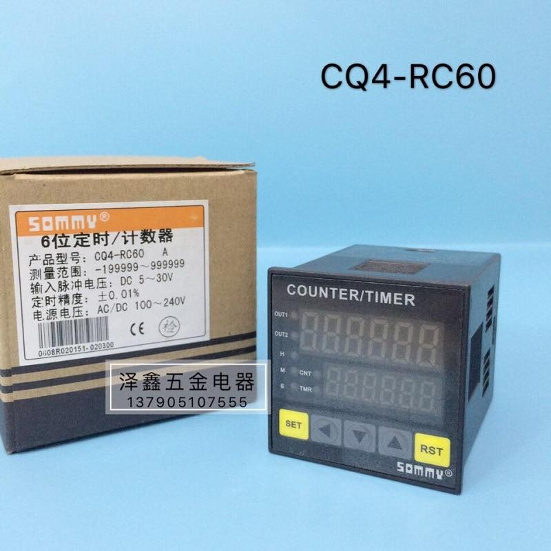 سونغمي سومي CQ4-RC60 عداد إيجابي وسلبي ثنائي الاتجاه ذكي عداد عداد 6 بت