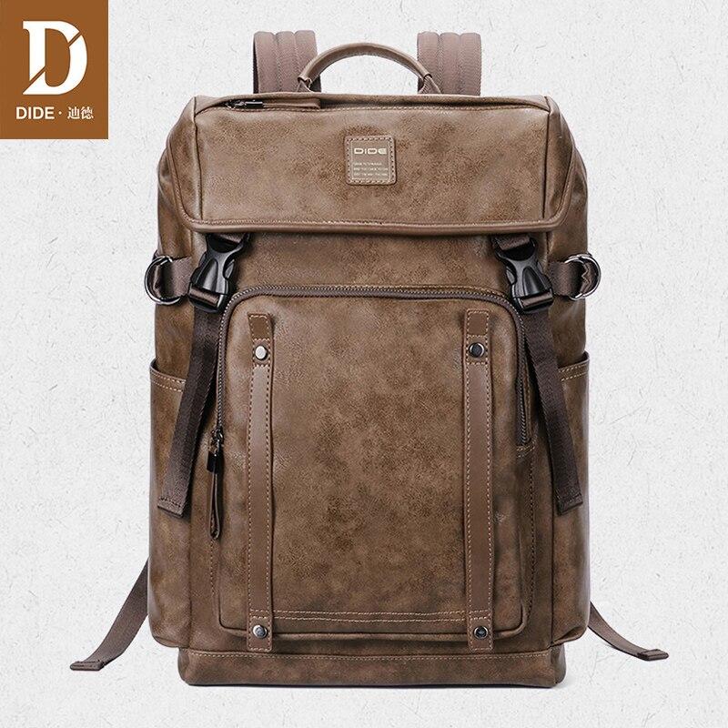 Мужской водонепроницаемый рюкзак DIDE, черный водонепроницаемый рюкзак для ноутбука, 2019