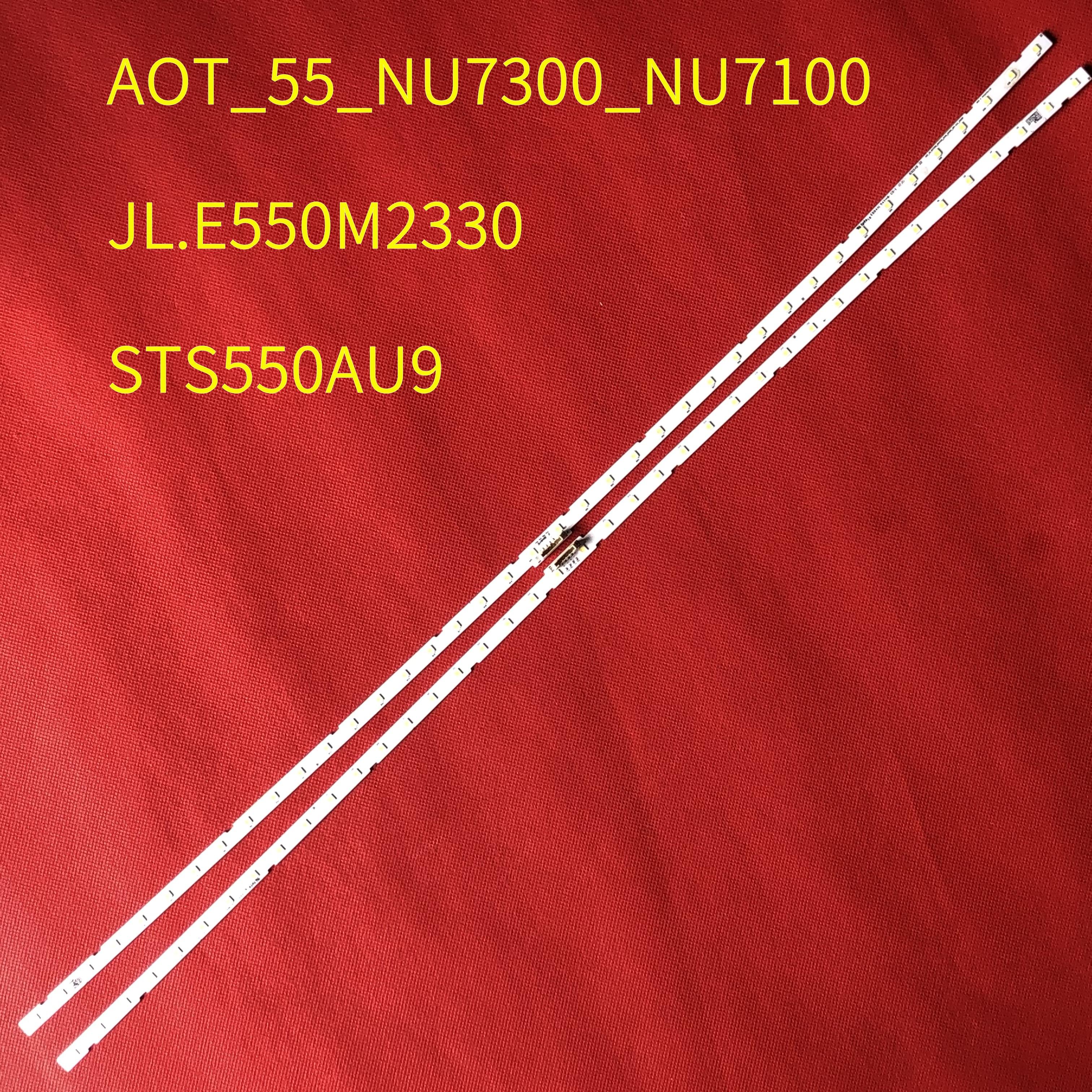 Tira conduzida Luz de Fundo para Samusng 55NU7100 UE55NU7300 UE55NU7100 UE55NU7105 AOT_55_NU7300_NU7100 BN96-45913A BN61-15485A