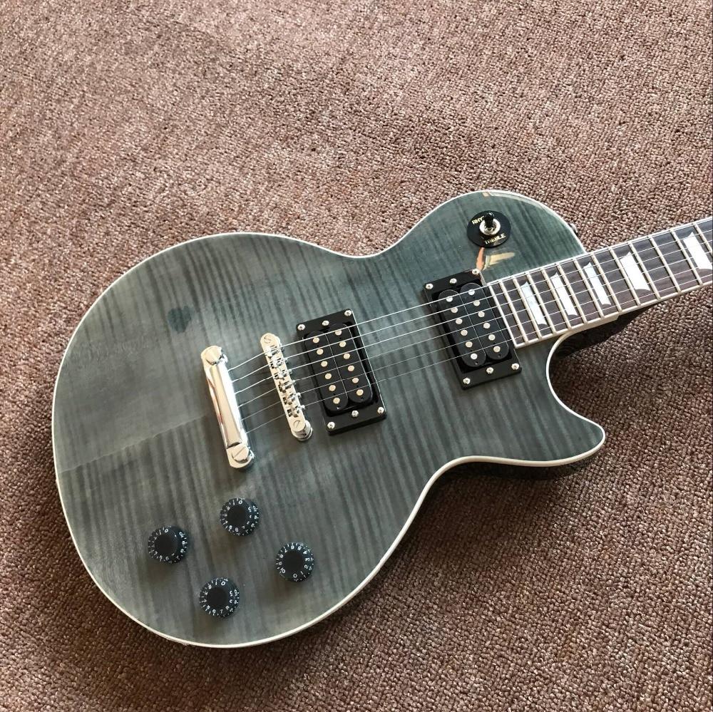 New standard Custom.Tiger Flame standard electric guitar.rosewood fingerboard gitaar,mahogany body guitarra enlarge