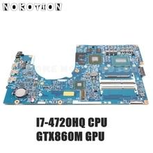 NOKOTION NBMTH11003 448.02G08.001M Acer aspire VN7-791 메인 보드 I7-4720HQ CPU GTX860M GPU 용 노트북 마더 보드