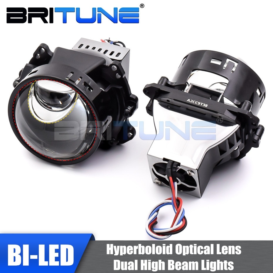 Bi-led Lenses Hyperboloid Projector Car Lens 3.0'' Hella 3R G5 Matrix LED Headlight 6000K High Beam