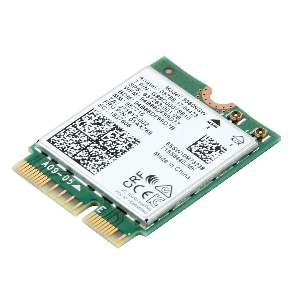 Bluetooth 5,0 Intel Dual Band AC 9560 9560NGW NGFF Wifi M.2 карта 1,73 Гбит/с беспроводной CNVI BT5.0 G6M2