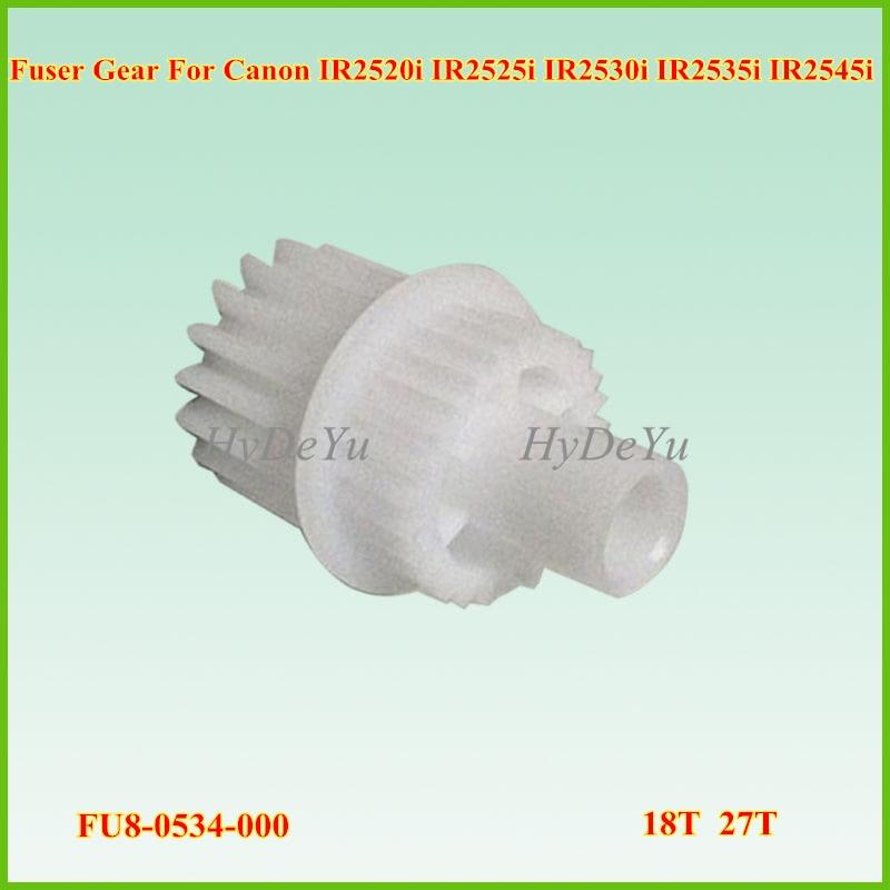3PC FU8-0534-000  FU80534000  Fuser Drive Gear 18T 27T for Canon imageRUNNER iR 2535 2535I 2545 2545I IR2535 IR2545 IR2535I