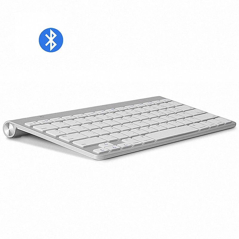 Высококачественные ультратонкие Bluetooth-клавиатуры, беззвучные планшеты и смартфоны для Apple, беспроводная клавиатура, стиль IOS, Android, Windows