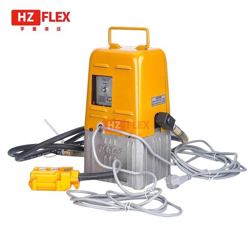 R14E-F1 220 فولت 0.4KW مضخة هيدروليكية كهربائية صغيرة محطة نظام هيدروليكي خراطيم هيدروليكية عالية الضغط الكهربائية