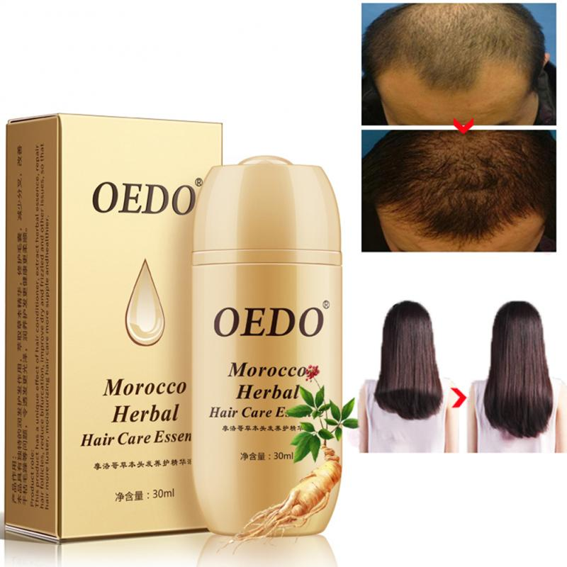 Ginseng de hierbas para el cuidado del cabello Esencia de tratamiento para hombres y mujeres, la pérdida de cabello rápido poderoso el crecimiento del cabello suero reparación cabello raíz TSLM1