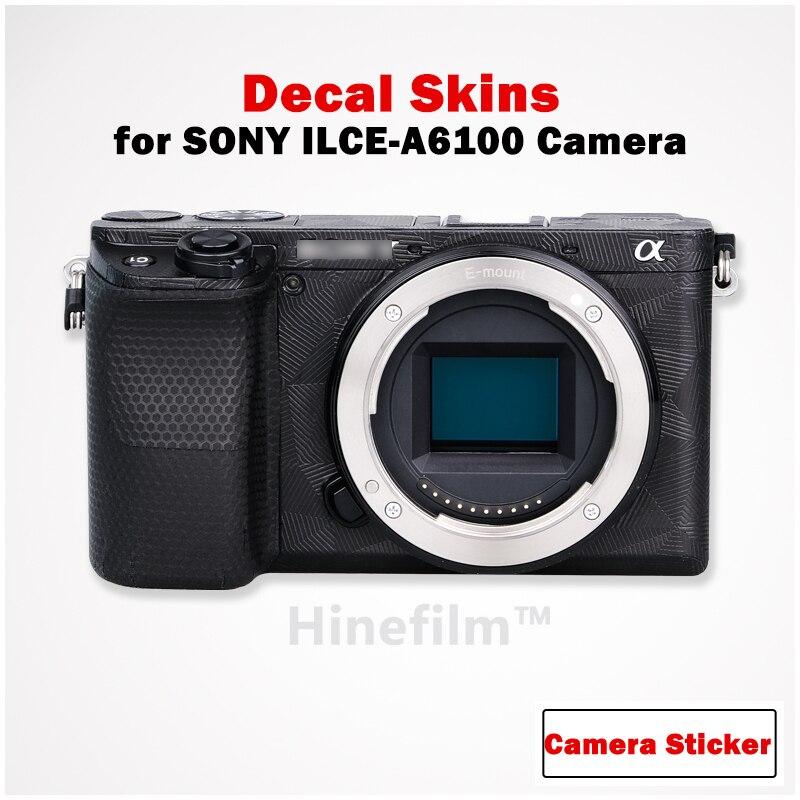 Виниловая наклейка A6100 для камеры, пленка с защитой от царапин для Sony Alpha 6100, пленка-наклейка для камеры, премиум-кейсы 3M
