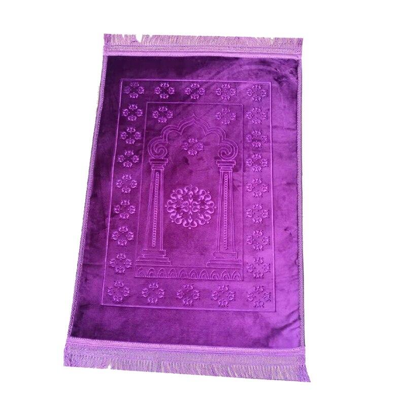 Tapete de oração musallah islâmico muçulmano tapete de oração salat sapadah tapis de priere islam sajda orando tapetes tapete tassel decoração