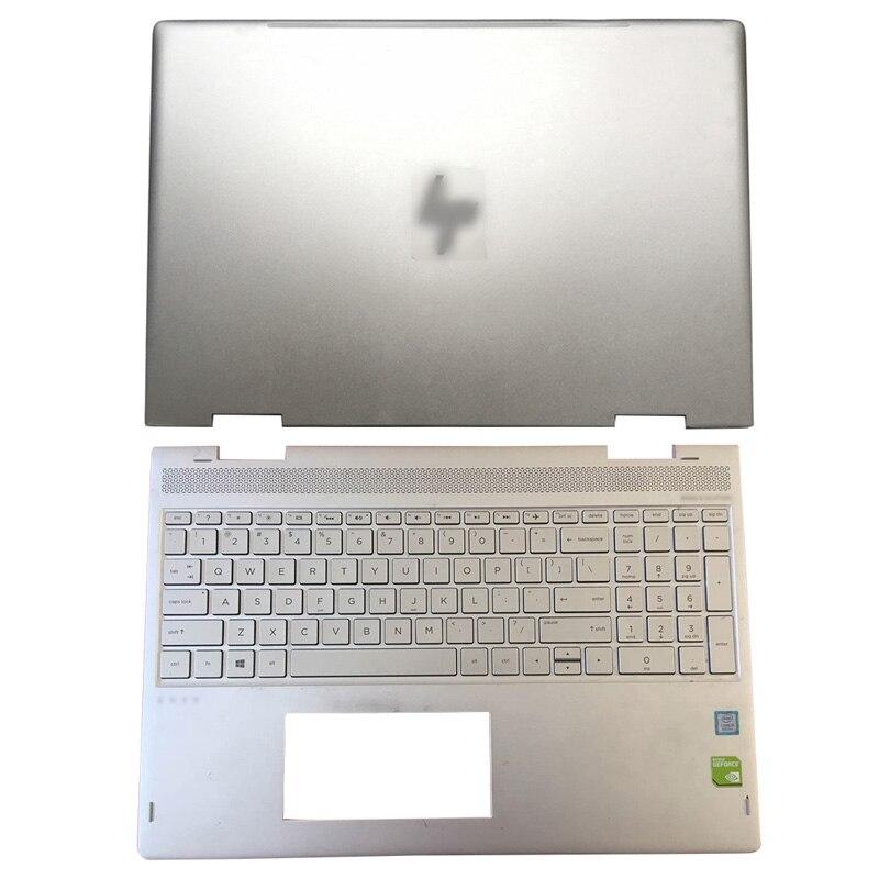 NEW Original Laptop For HP ENVY X360 15-BP 15M-BP Series LCD Back Cover/Palmrest Upper Case 924344-001 934640-001 4600BX0G000