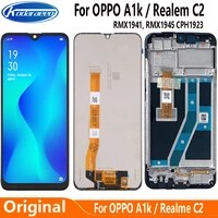 original display replace 6 1 for oppo a1k cph1923 lcd touch screen digitizer assembly for realme c2 rmx1941 rmx1945