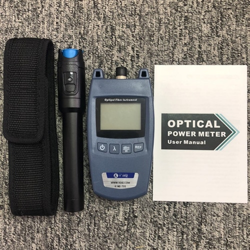 2 in1 VFL 10mW 30mW Visual Fault Locator Fiber optic test pen  Fiber Optic Tool Kit Fiber Optical Power Meter -70 + 10dBm enlarge