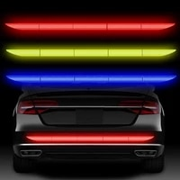 car reflective sticker warning strip tape traceless protective car sticker warn on car body trunk exterior auto accessories