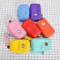 jcbtshbaby series k pop new cartoon love cute pendant bag waist bag chest bag storage bag coin purse color