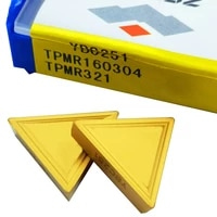 10pcs cnc tpmr321 ybc251 tpmr160304 face milling cutter tool ybc151 ybc251 for steel
