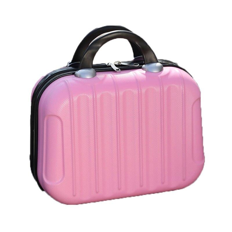 بسيطة المحمولة حقيبة مستحضرات التجميل حقيبة حقيبة الرجعية حقيبة يد الموضة حقيبة التخزين