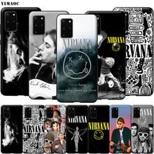 YIMAOC Nirvana Kurt Cobain coque souple en Silicone pour Samsung Galaxy S6 S7 S10e Edge S8 S9 Plus A3 A5 A6 A7 A8 A9 J6 Note 8 9 2018