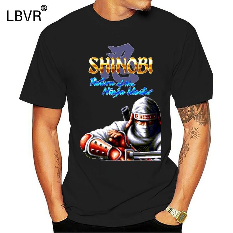 Mens Quality Shinobi 3 Return Of The Ninja Gaiden Master T Shirt Anime Camiseta Round Collar S-6XL Plus Size Homme Tee Shirt