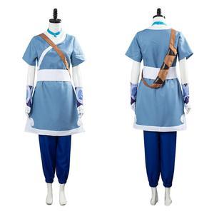 Avatar The Last Airbender Katara Cosplay Costume Outfit Halloween Carniva Costumes