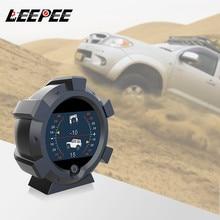 LEEPEE fournir dispositif de vitesse dangle de pente intelligent GPS pente mètre Altitude hors route dispositif haute précision boussole voiture inclinomètre