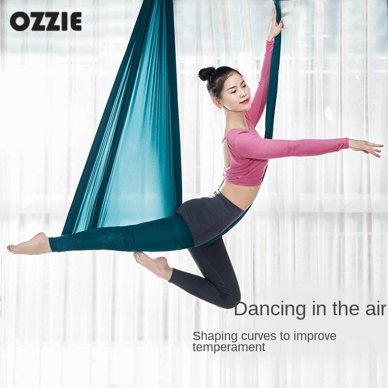Aerial Yoga Hammock Household Fixed Plate Elastic Hanging Bracket Sling High-Altitude Air Yoga Lanyard