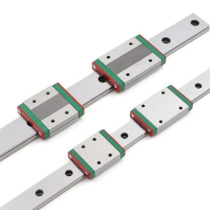 2 uds MGW9 guía lineal L100 150, 200, 300, 500, 600, 1000 mm miniatura de carril lineal + 2 uds diapositiva MGW9C MGW9H transporte CNC 3D impresora