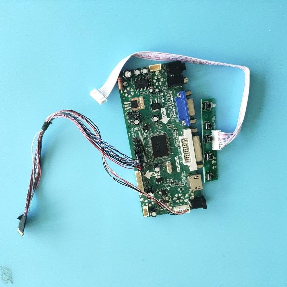 عدة ل B156HW01 V2/B156HW01 V3 لوحة تحكم 40pin LCD LED M.NT68676 1920x1080 HDMI + DVI + VGA لوحة عرض موتور الشاشة