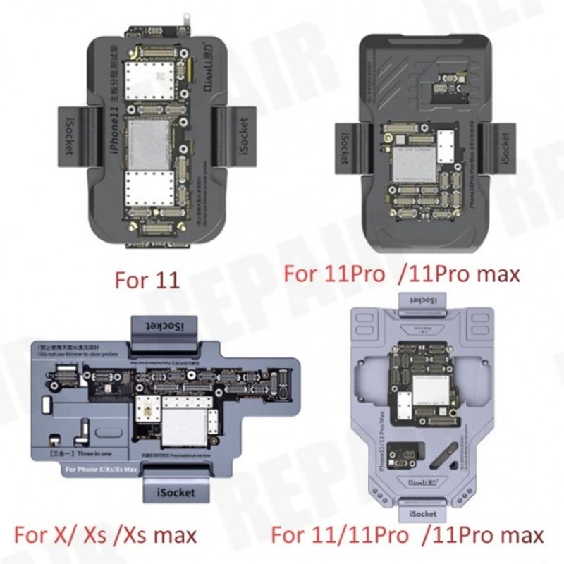 Qianli iSocket اللوحة اختبار الرقصة آيفون 11Pro ماكس/11pro /11/X/XS/XS ماكس المنطق مجلس وظيفة التشخيص اختبار سريع