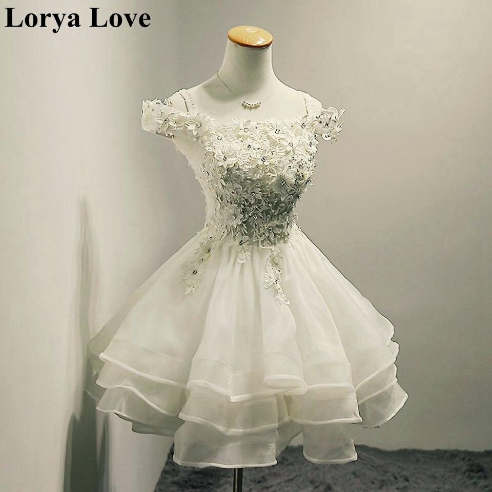 فستان كوكتيل نسائي ، قصير ، أكتاف عارية ، أبيض ، أنيق ، حفلة تخرج ، 2020
