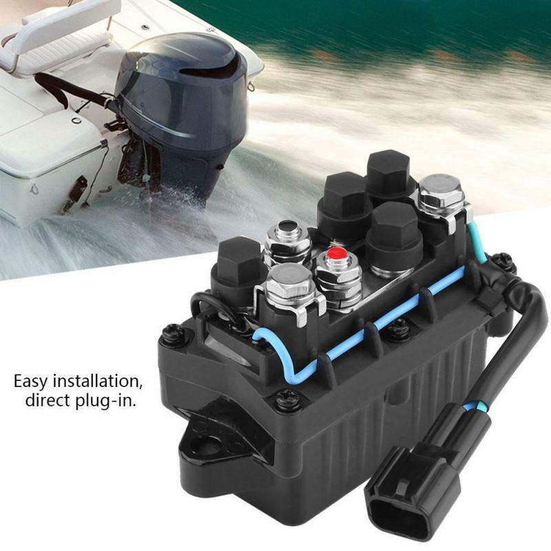 Прямой покрой реле отделка подвесной 2 шпильки двигателя для Yamaha 63p-81950-00-00 практические легко установить Прочные Замена аксессуары
