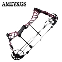 kaimei220 archery compound bow 40 60lbs adjustable hunting bow right hand outdoor fishing shooting game archery accessroies
