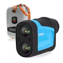 Mileseey pf210 600 m golf laser rangefinder mini golf inclinação ajustado a distância a laser