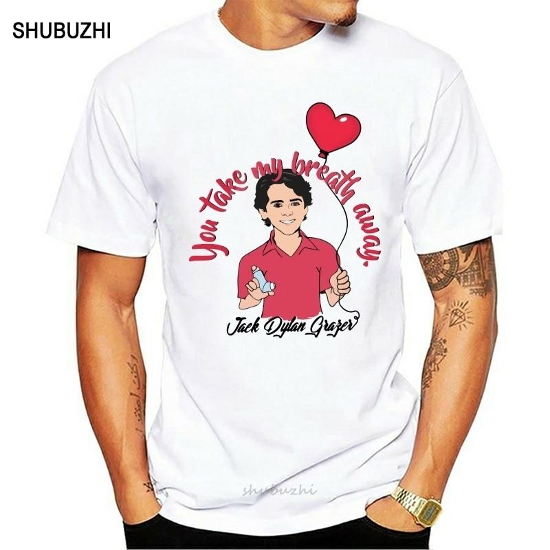 Camiseta para hombre, ropa para hombre, camiseta para hombre Jack Dylan Grazer Take My Breath Away