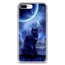 Adorable Silicone Phone Case Gray Fantasy Cat For Samsung Galaxy J1 J2 J3 J4 J5 J6 J7 J8 Plus 2018 Prime 2015 2016 2017