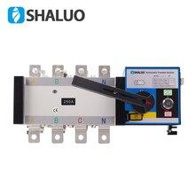 Commutateur de transfert dénergie double 400V 4P 250A   Commutateur universel, circuit électrique, circuit électrique, batterie générateur diesel ATS 220V ac, partie partielle