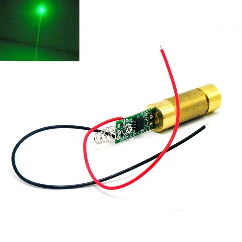532нм 10 мВт зеленый лазер диод модуль DC3V-4.2V Lazer Dot +% 2FLine Beam Lazer Lights 3.7V