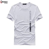 wwkk sports gym t shirt men short sleeve dry fit t shirt compression stretch top workout fitness training running shirt s 4xl