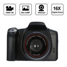 HD 1080P Digital SLR Kamera 2,4 Inch TFT LCD Bildschirm 16X Zoom Unterstützt Sd-karte Tragbare Kamera Für Reise nehmen Fotos
