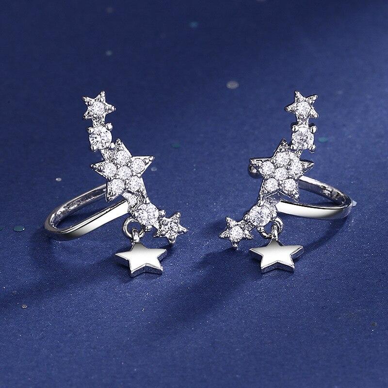 Серьги-клипсы-женские-из-серебра-925-пробы-с-кристаллами-и-звездами-серьги-каффы-для-девочек-joyas-de-plata-925-eh1340