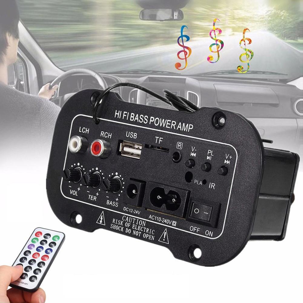 Amplificador Digital con Bluetooth para el hogar y el coche, placa amplificadora...