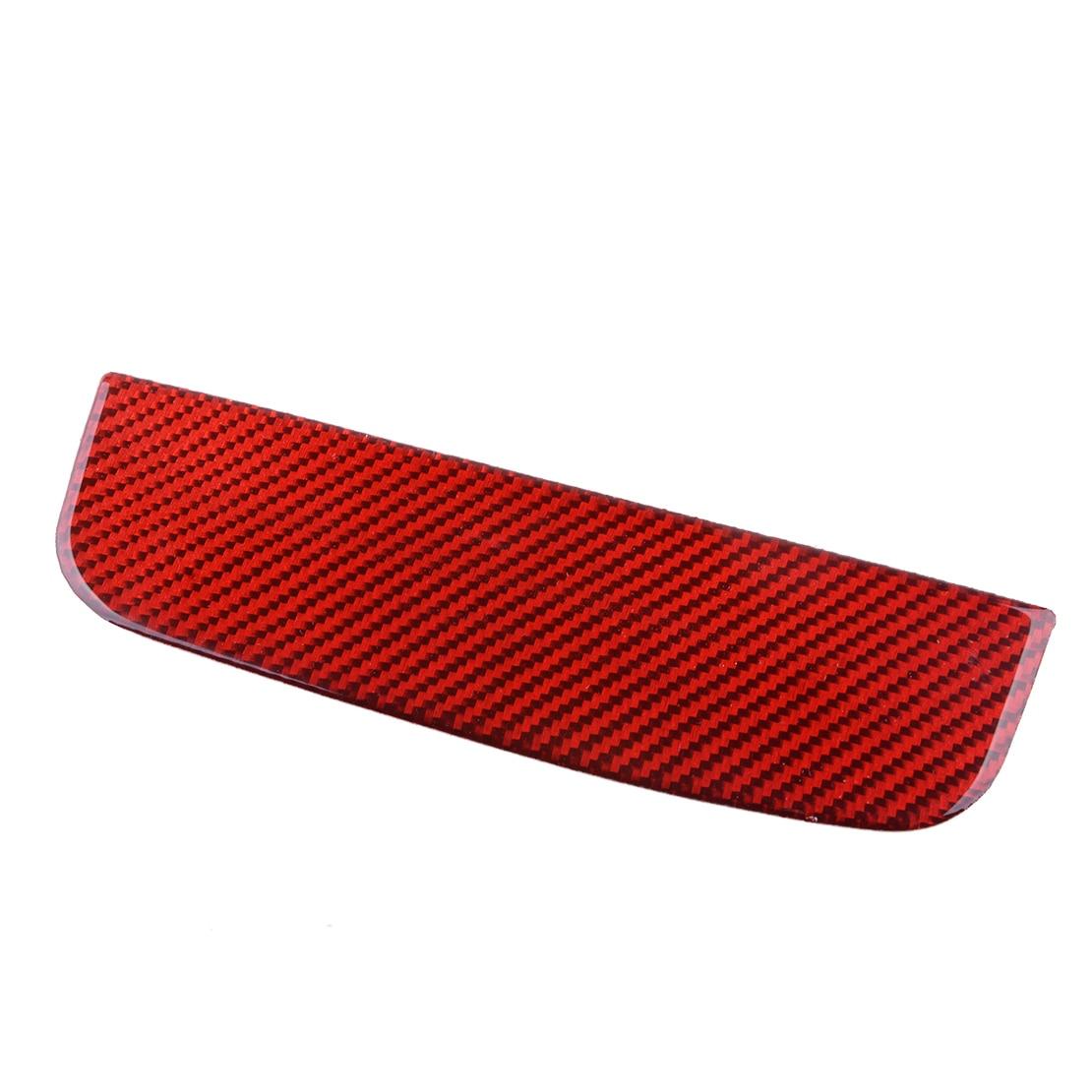 Beler Vorne Lagerung Box Trim Abdeckung Fit Für Ford Mustang 2015 2016 2017 2018 2019 Carbon Faser Rot
